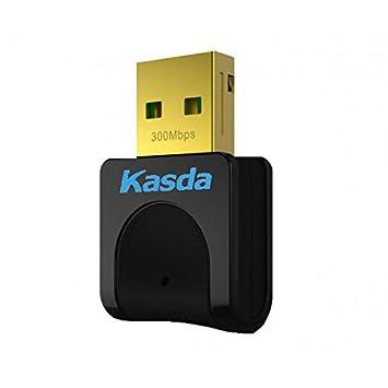 KASDA KW5312 Tarjeta Red WiFi N300 USB: Amazon.es ...