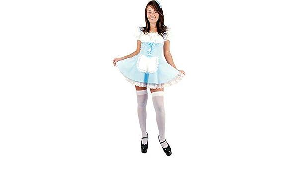 Forever Young Ladies Alicia en el País de Las Maravillas Disfraz Dorothy Fairytale Disfraces de Halloween Talla 38: Amazon.es: Ropa y accesorios