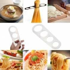 Stainless Steel Pasta Ruler Spaghetti Measurer Noodles Limiter Measuring