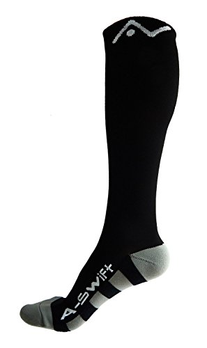 A-Swift-Compression-Socks-for-Women-and-Men-Black-Large
