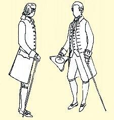 1770-1780 Frock Coat Pattern (40