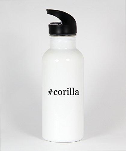 #corilla - Funny Hashtag 20oz White Water Bottle