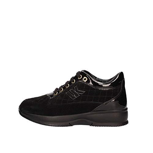 009 Zapatos Sw01305 Mujeres V10 Negro Lumberjack O5qw680