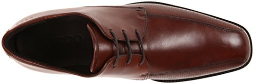 ECCO Toe Edinburgh Oxford Perforated Mink Tie Men's Bike UtrwUa