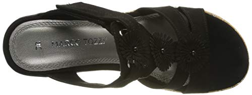 Donna 098 black 2 Ciabatte Comb Tozzi 22 27213 Marco 2 Nero 6vUBqUF