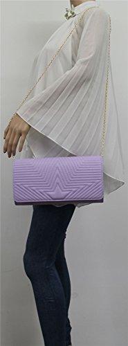 Lilas SwankySwans violet pour femme Pochette qzgxwxXRHW