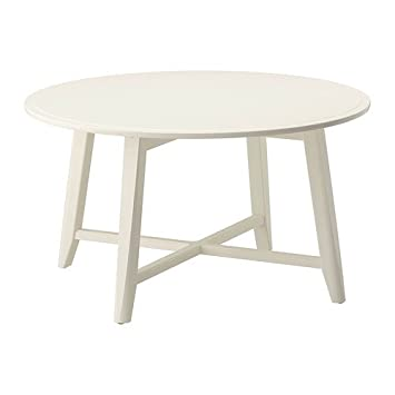 Ikea Kragsta Coffee Table White 90 Cm Amazoncouk