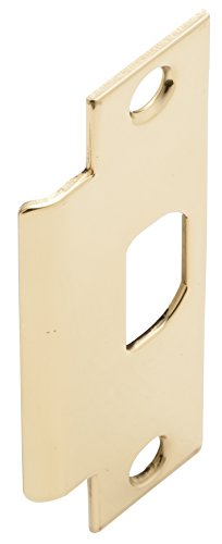 Mortise Lock Strike Plate - Schlage 10-025 1316 626 Standard Mortise Strike Plate, Satin Chrome, Brass