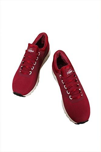 Nike Dames Air Max Zero Loopschoen Noble / Rood / Nobel / Rood / Sail / Black