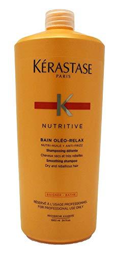Kerastase Bain Oleo Relax, 34 Fluid Ounce (Kerastase Nutritive Bain Oleo Curl Shampoo 34 Oz)