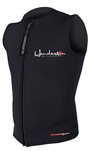 Henderson Men's Premium 3MM Thermoprene Zippered Vest, Black, 3XL - Diving by Henderson