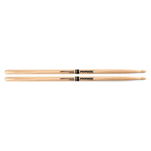 Promark TX7AW American Hickory Wood Tip, Single Pair ()