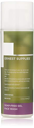 Ernest Supplies SOAP-FREE GEL FACE WASH, 5.1 fl. Oz