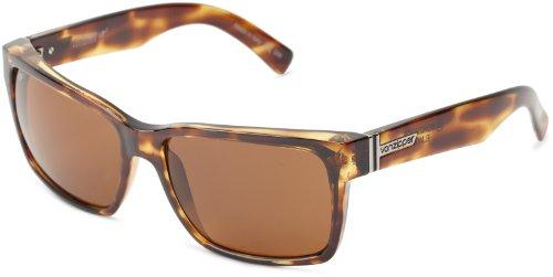 (VonZipper Elmore Polarized Square Sunglasses,Tortoise,One Size)