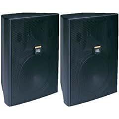 JBL Control 28T-60 8 2-Way Vented Speaker Pair Black