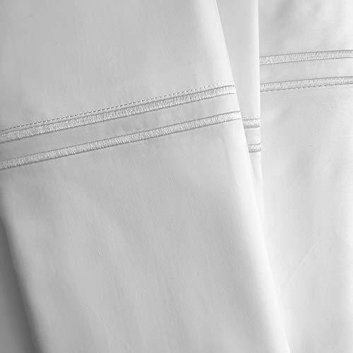 Cpekingface 400 Thread Count 100% Modal Bedding Sheet Sets, Queen Size, 4 Piece White Color,Fits Mattress Upto 15