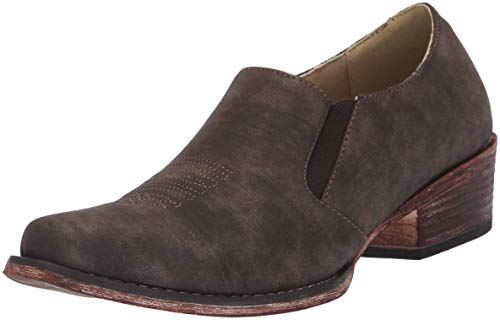 ROPER Women's Birkita Classic Western Boot, Brown, 8 D US