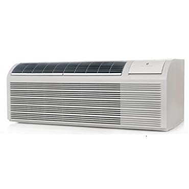 Friedrich PDH09K3SG PTAC Air Conditioner with Heat Pump, Backup Electric Heat, 9,400 BTU's, 230/208 Volt, EER Rating of 12.1, and DiamondBlue Anti Corrosion Protection, in White
