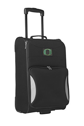 Denco Sports Luggage NCAA University of Oregon 21'' Black Steadfast Upright by Denco Sports Luggage by Denco Sports Luggage