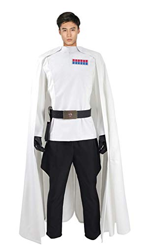 TX CROWN Halloween Costume Full Set (XL, Rogue) (Star Wars Imperial Uniform)