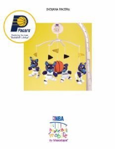Musical Mobile - Indiana Pacers - Officially Licensed NBA Product