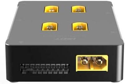 Cargador de bater/ía Inteligente para iSDT PC-4860 Cargador XT60 Tablero Paralelo Seguro Accesorio RC Accesorio RC