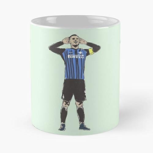 - Icardi Milan Inter - Ceramic Novelty Cup Best Gift For Father Day