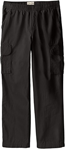 The Children's Place Big Boys' Pull-On Cargo Pant, Black, (Kids Pants)