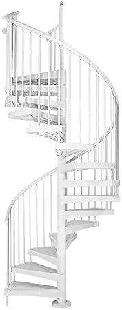 Fontanot Techné lineal escalera de caracol de interior/al aire libre 64 – 3/16