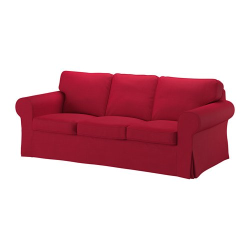 Ikea Big Sofa, Nordvalla red 16204.111117.142