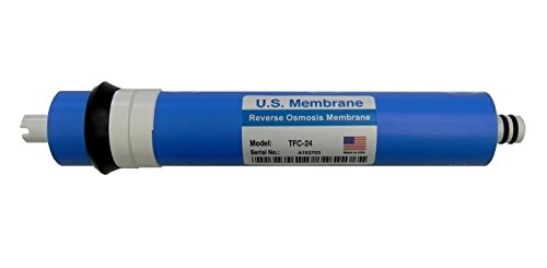 24 Gpd Tfc Membrane - GE FX12M comparable TFC-24 Standard 24 GPD RO Membrane Filter for GE GXRM10RBL Reverse Osmosis Systems Made in USA
