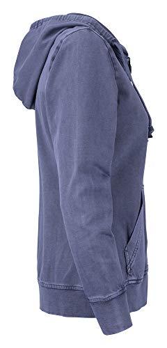 Blue Thorp denim amp; Cutter Farbe Ladies Hoody Buck Größe Denim Full Zip l 7AaEwxPAOq