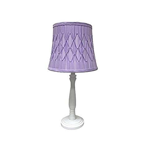 Creative Motion 60142-4 Juvenile Table Lamp with Purple Shade - Juvenile Kids Table