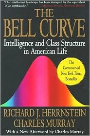 Book cover from Bell Curve Publisher: Free Press; 1st Free Press pbk. ed edition by Charles Murray Richard J. Herrnstein