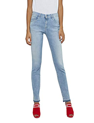 Blu Donna Jeans Blue light 10 Slim Replay Vivy 4qU8Ixqv