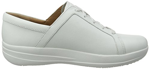 Zapatillas Fitflop Lace Sneakers Bianco Para urban 194 Ii Up sporty leather F White Mujer Sr6qS0