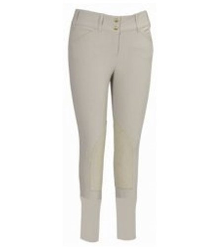 Tuffrider Damens & 039;s Sierra Knee Patch BREECH, Light Tan, 26 by tuffrider