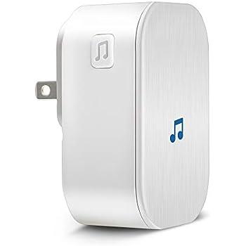 Amazon.com: TONBUX - Timbre de puerta inalámbrico (433 MHz ...