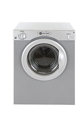 white knight 37as compact tumble dryer 3 kg silver. Black Bedroom Furniture Sets. Home Design Ideas