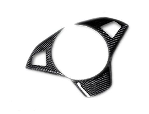Eppar® New Carbon Fiber Steering Wheel Cover for BMW M6 E63 E64 2005-2010 E63 M6 Carbon Fiber