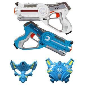 Laser Tag Infrared Guns and Vests - Laser Battle Mega Pack of 4 - Infrared 0.9mW by Laser Tag (Image #1)