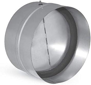 Válvula de retención de aire con junta interna para conductos de ventilación, disponible en varios diámetros.: Amazon.es: Bricolaje y herramientas