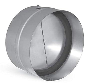 Valvola di non ritorno aria con guarnizione interna per condotte aria - diametri vari (diametro 125 mm) Arieggiare