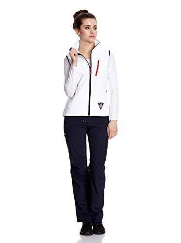 Tex White Softshellweste Windbreaker Gilet Five Membrane White Fifty Five Outdoor Mit Women's Sophie Winddichter fW8nwnBqU