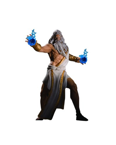 [DC Unlimited God of War Series 1: Zeus Action Figures] (Costume Hades Greek God)