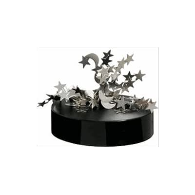 Magnetic Desktop Sculpture - Moon and Stars: Toys & Games