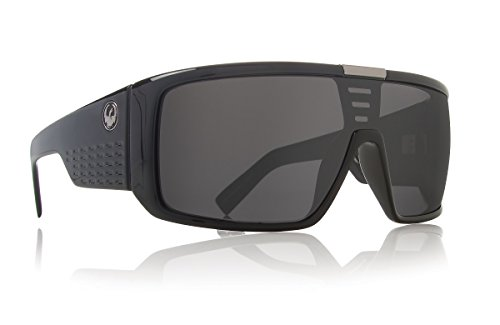 Dragon Alliance Domo Sunglasses (Jet with Grey - Domo Dragon