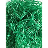 New Reusable Shredded Plastic Easter Grass great for Gift Bags & Boxes or Wedding Basket Filler (Green) 3.25oz (92.1 grams) per bag ()