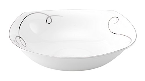 Square Open Vegetable Bowl (Mikasa Love Story Square Vegetable Bowl, 9-Inch)