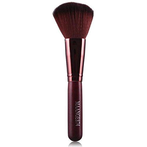Dreaman Professional Fiber Foundation Powder Blush Cosmetic Make Up Blush Coffee (Sigma Large Powder Brush compare prices)